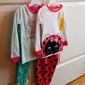 The Children's Place, Lot of 2, Pajamas, Sz 3T
